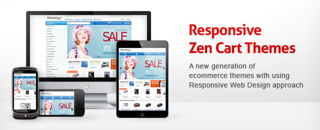 Responsive Zen Cart Templates Blog Ecommerce Themes By Leaves - Responsive shopping cart template