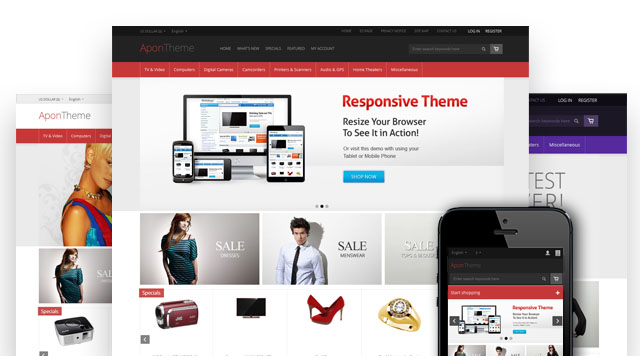 New Zen Cart Theme: Apon Responsive | Blog – Ecommerce Themes by ...